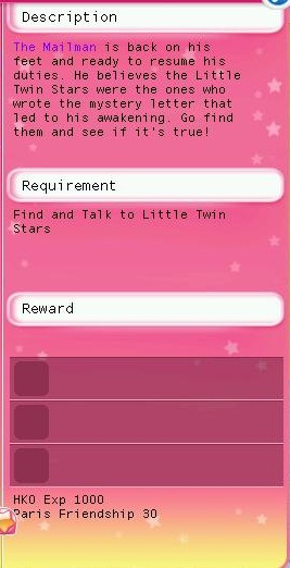 HKO Quests twins letter22