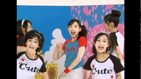 ℃-ute - Meguru Koi no Kisetsu (MV) (Dance Shot Natsu Ver