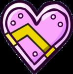Crystal Heart Shield