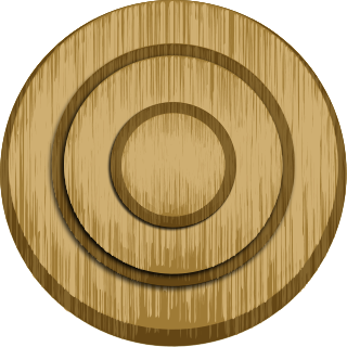 File:Wood archery target.png