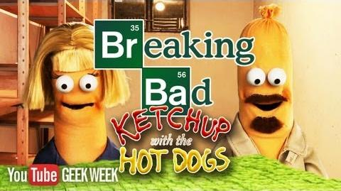 BREAKING BAD Season 5 Puppet Recap Ketchup with the Hot Dogs