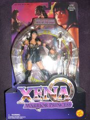 Xena from Sins of the Past with Sword Drawing Action front