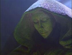 Hestia statue
