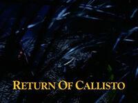 Return of Callisto TITLE