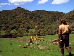 Ares episode title card