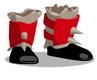 Crimson Barbarian Boots
