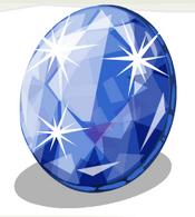 Cut Sapphire