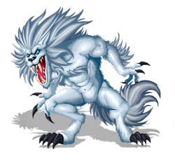 Arctic werewolf
