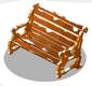 Festive Bench