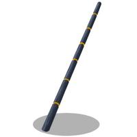 Horn pole
