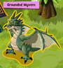 Grounded Wyvern