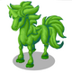 Unicorn Topiary