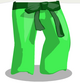 Leafy Karate Pants