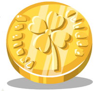Gold Wishing Coin