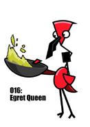 Egret Queen