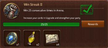 Win streak 2