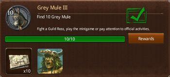 Grey Mule III