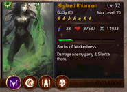 Blighted Rhiannon T1