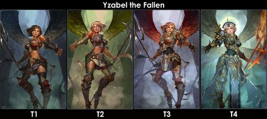 Yzabel The Fallenevo