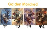 All Tiers of Golden Mordred