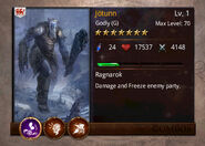 Jotunn-card