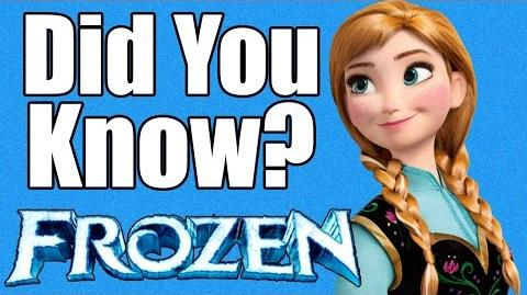 13 Facts You Didn't Know About FROZEN