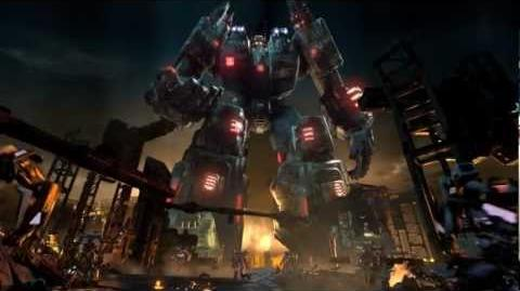 E3 Trailer -- Official Transformers Fall of Cybertron Video