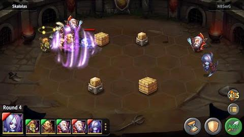 Heroes Tactics Arena DC Win