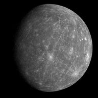 Mercury-messenger-globe-gray