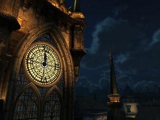 Clock tower 2 by indigodeep