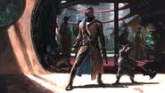 Star-Lord and Rocket concept
