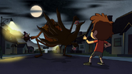 Trickster attacking Dipper