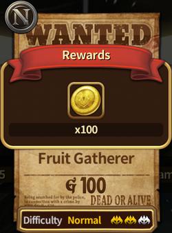 Fruit Gatherer Completed Image