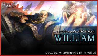 William banner