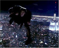 Peter flying