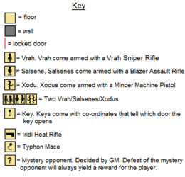 Labyrinth of the dead key
