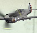 P-40N-15 Warhawk