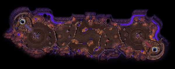Lost Cavern Map