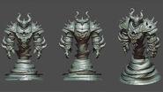 Ragnaros Master skin render
