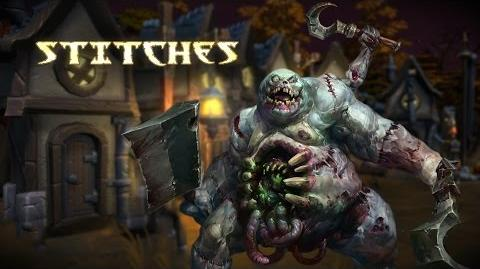 Heroes of the Storm Stitches Trailer