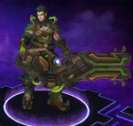 Zarya - Thunder Guard - Emerald