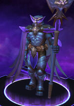 Medivh - Knight Owl - Amethyst