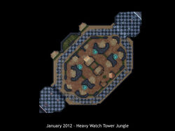 Heavy Watch Tower Jungle