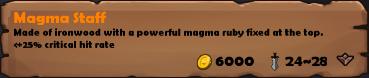 Magma Staff 2