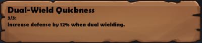 Dual-Wield Quickness 2
