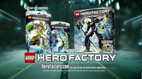 LEGO® Hero Factory - Rocka vs Black Phantom Advert HD