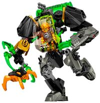 Hero Factory Invasion from Below Wave 1 - Rocka Stealth Machine
