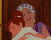 Anastasia reunited with her grandmother