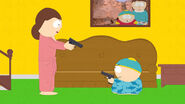 Cartman-and-his-mom-argue-over-bedtime-while-armed-in-south-park-season-19-finale-that-focuses-on-gun-control