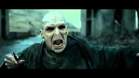 Harry Potter VS Lord Voldemort - Final Battle Hogwarts courtyard
